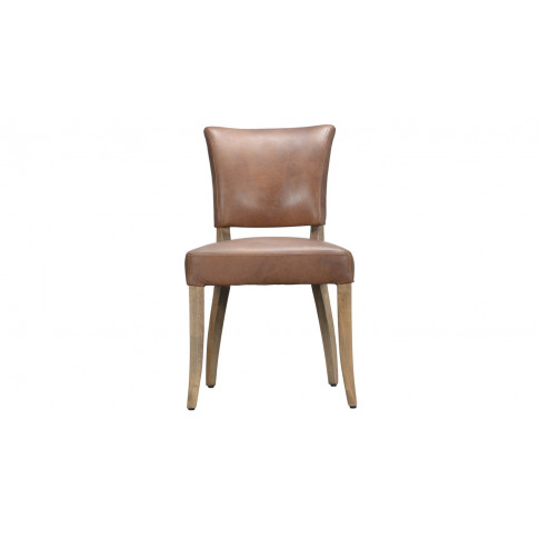 Timothy Oulton Mimi Dining Chair Destroyed Raw Leather