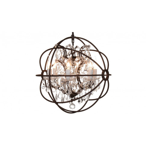 Timothy Oulton Gyro Crystal Small Chandelier