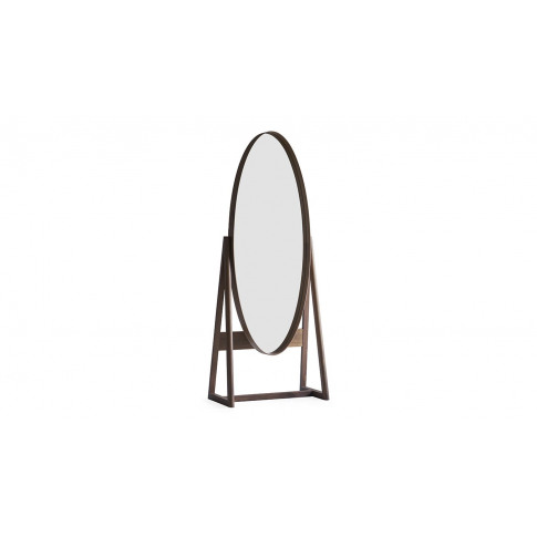 Pinch Iona Tall Cheval Mirror Walnut