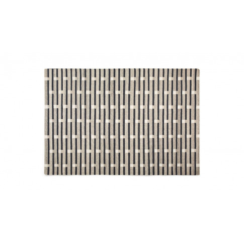 Case Purlin Tufted Rug Warm Grey 170 X 240cm