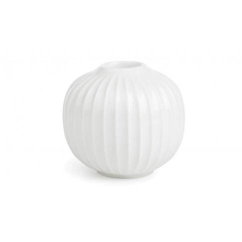 Kahler Hammershoi Candleholder White