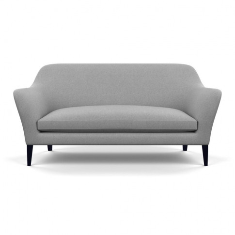 Heal's Wallis 3 Seater Sofa Cotton Pewter Black Feet