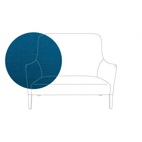 Pinch Pendel 2 Seater Sofa Cabot Pure Linen Cobalt B...