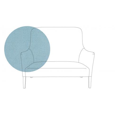 Pinch Pendel 2 Seater Sofa Capelo Linen-Cotton Sea S...