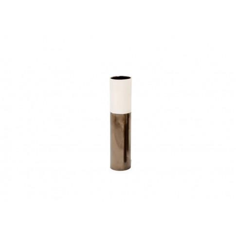 Heal's Dual Tone Vase Medium Cream & Metallic