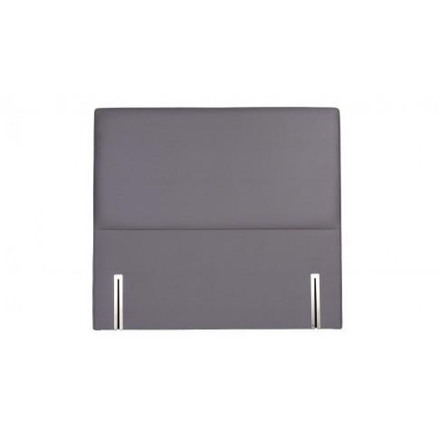 Heal's Newman Headboard Double Cotton Slate Grey