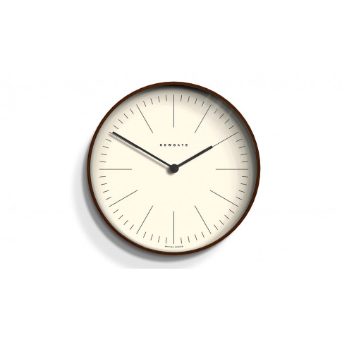 Newgate Mr Clarke Wall Clock Dark Line Small