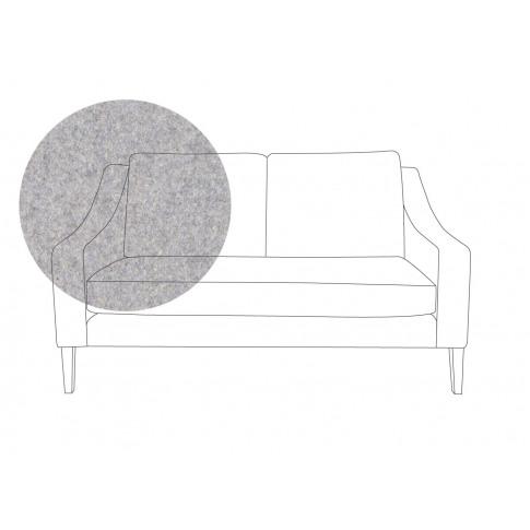 Heal's Richmond 2 Seater Sofa Wool Felt Wolf Natural...
