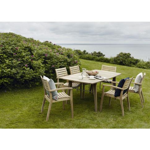 Skagerak Ballare Extending Garden Table