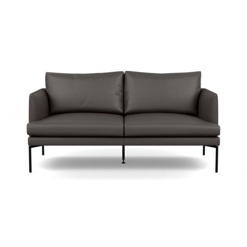 Heal's Matera 2 Seater Sofa Leather Hide Grey 7177