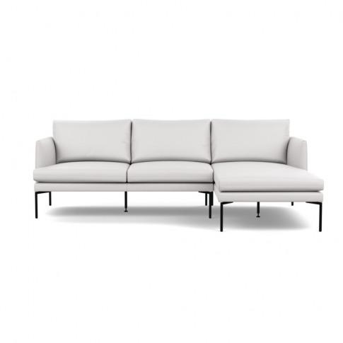 Heal's Matera Corner Chaise Sofa Rhf Leather Grain W...
