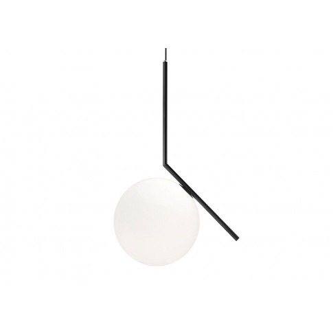 Flos Ic S2 Pendant Light Black
