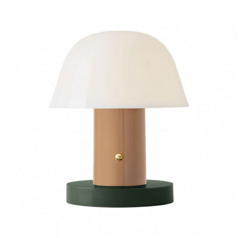 &Tradition Setago Table Lamp Jh27 Nude And Forest