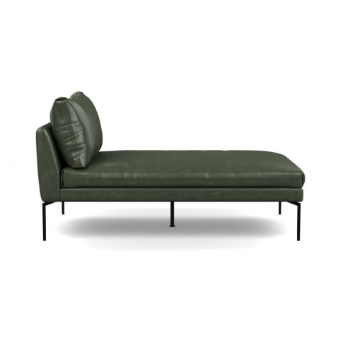 Heal's Matera Chaise Longue Leather Stonewash Vintag...