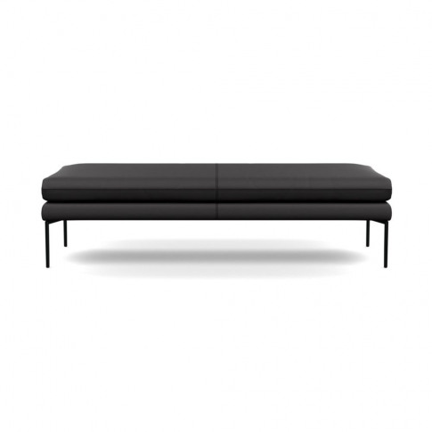 Heal's Matera Bench 160cm Leather Grain Graphite 063...