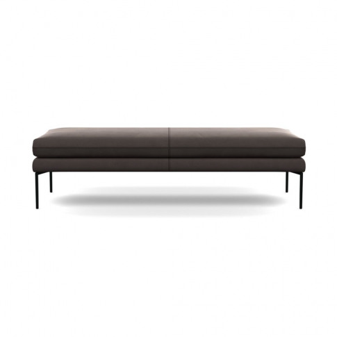 Heal's Matera Bench 160cm Nobilis Velvet Sable Black...