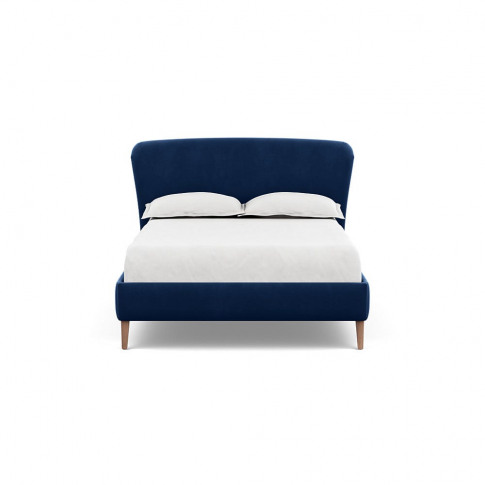 Heal's Darcey Bed Double Velvet Midnight Tinted Ash ...