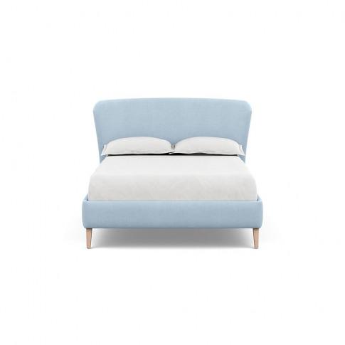 Heal's Darcey Bed Double Capelo Linen-Cotton Sea Sha...