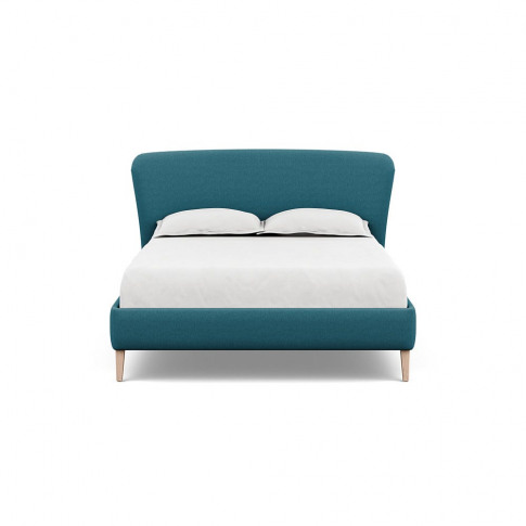 Heal's Darcey Bed King Brushed Cotton Cadet Natural ...