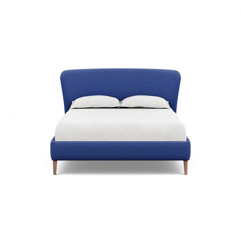 Heal's Darcey Bed King Brushed Cotton Cobalt Tinted ...
