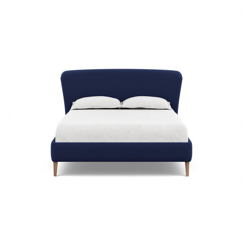 Heal's Darcey Bed King Melton Wool New Navy Tinted A...