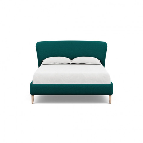Heal's Darcey Bed King Brushed Cotton Pine Natural Feet