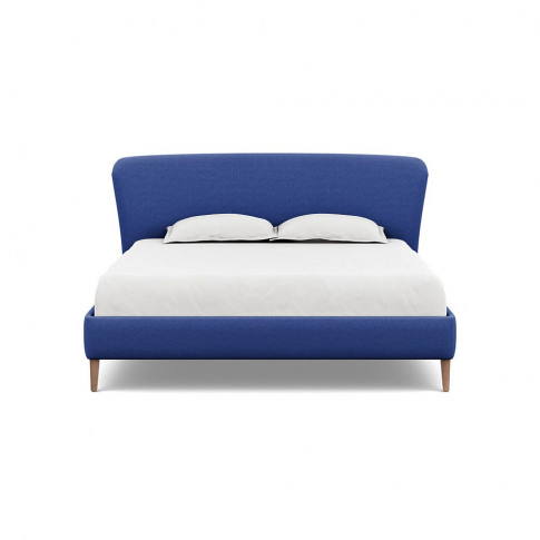Heal's Darcey Bed Super King Brushed Cotton Cobalt T...