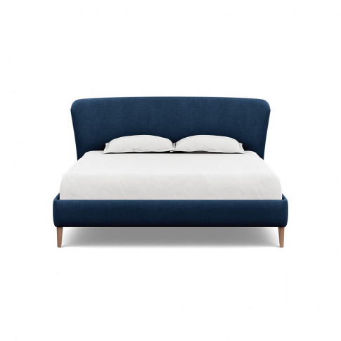Heal's Darcey Bed Super King Capelo Linen-Cotton Ink...