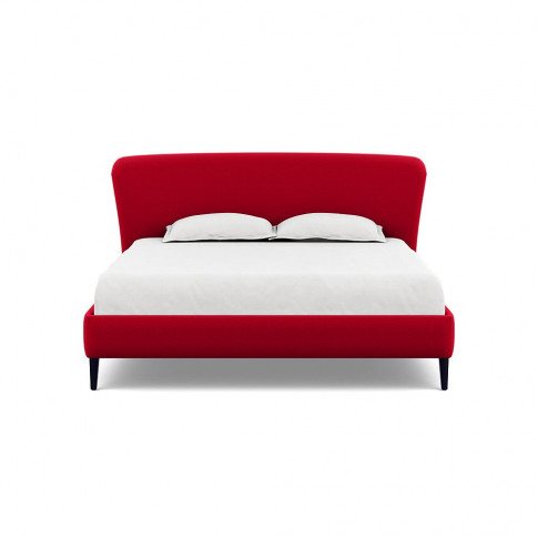 Heal's Darcey Bed Super King Melton Wool Red Oxide B...