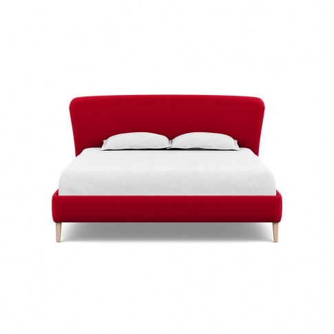 Heal's Darcey Bed Super King Melton Wool Red Oxide N...