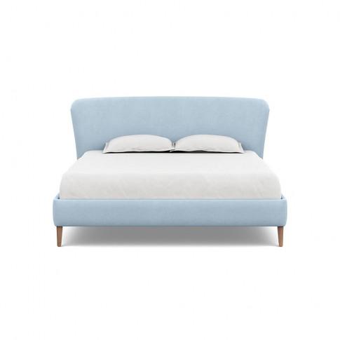 Heal's Darcey Bed Super King Capelo Linen-Cotton Sea...