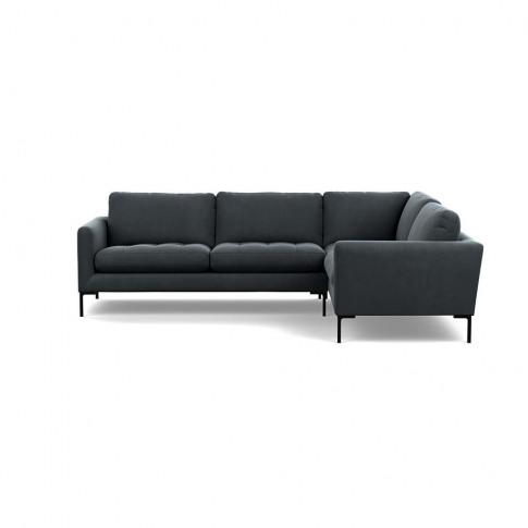 Heal's Eton Right Hand Facing Corner Sofa Smart Velv...