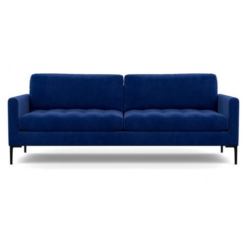 Heal's Eton 4 Seater Sofa Smart Luxe Velvet Azure Bl...