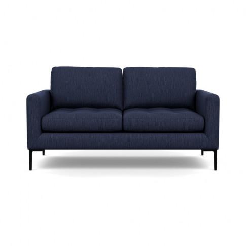 Heal's Eton 2 Seater Sofa Smart Linen Mix Navy Black...