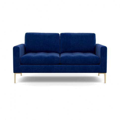 Heal's Eton 2 Seater Sofa Smart Luxe Velvet Azure Br...