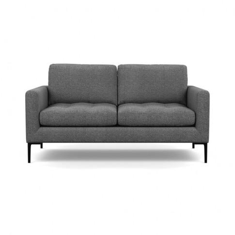 Heal's Eton 2 Seater Sofa Tejo Recycled Noir Black Feet