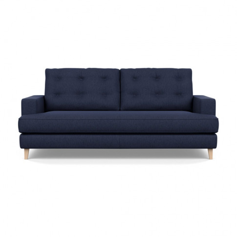 Heal's Mistral 3 Seater Sofa Smart Linen Mix Navy Na...