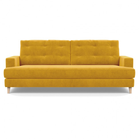 Heal's Mistral 4 Seater Sofa Smart Luxe Velvet Canar...