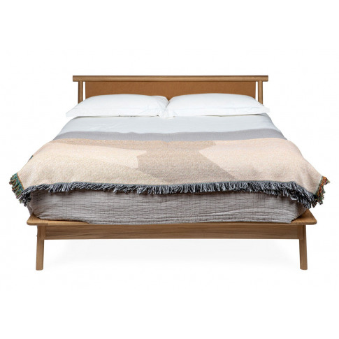 Heal's Eden King Size Bed Tan Leather