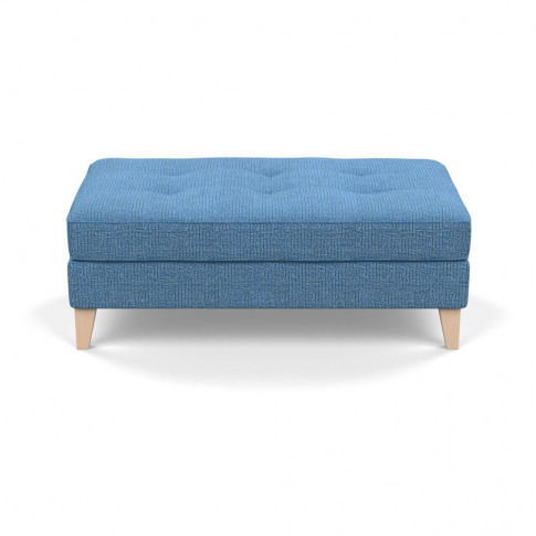 Heal's Mistral Footstool Tejo Recycled Cobalt Natura...
