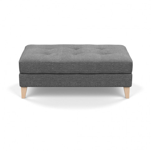 Heal's Mistral Footstool Tejo Recycled Noir Natural ...