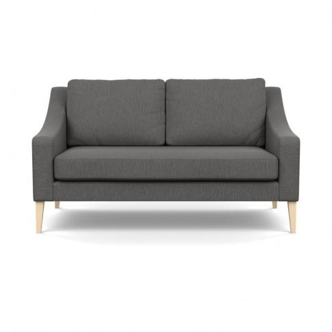 Heal's Richmond 2 Seater Sofa Smart Linen Mix Grey N...