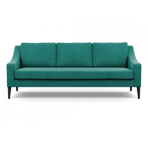 Heal's Richmond 4 Seater Sofa Smart Velvet Green Bla...