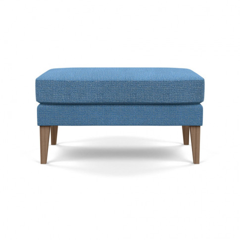 Heal's Richmond Ottoman Tejo Recycled Cobalt Tinted ...