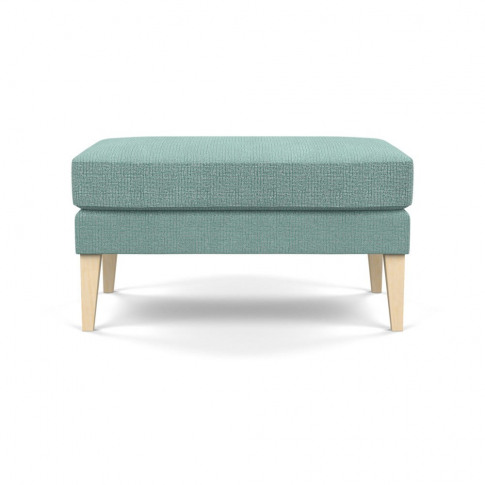 Heal's Richmond Ottoman Tejo Recycled Teal Natural A...
