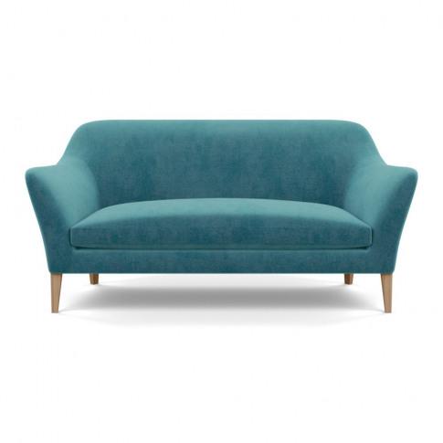 Heal's Wallis 3 Seater Sofa Smart Luxe Velvet Airfor...