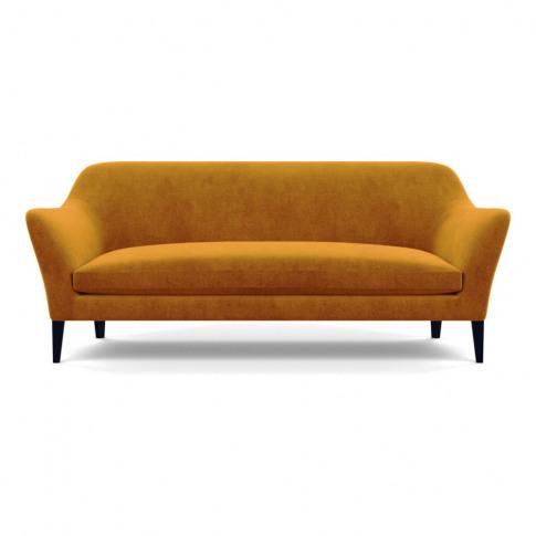Heal's Wallis 4 Seater Sofa Smart Luxe Velvet Cognac...
