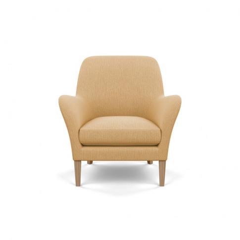 Heal's Wallis Armchair Smart Linen Mix Sand Tinted A...