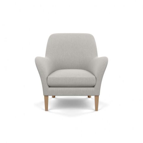 Heal's Wallis Armchair Smart Linen Mix Silver Tinted...