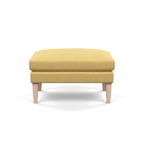 Heal's Wallis Ottoman Tejo Recycled Ochre Natural As...